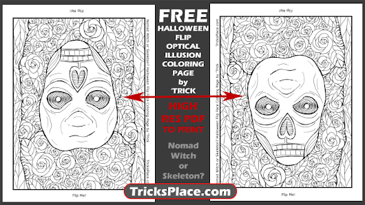 Free Coloring Pages - 'Trick's Place