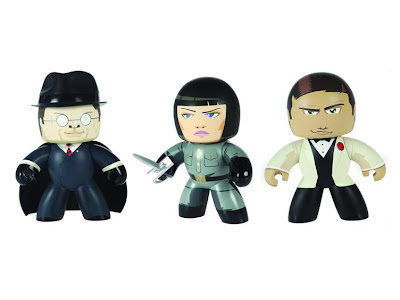 Indiana Jones Mighty Muggs Wave 3 - Toht, Irina Spalko and Indiana Jones in Tuxedo