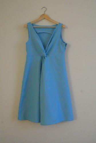 Burda 3/2012 Knot Dress