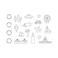 Greetings From Photopolymer Stamp Set