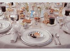 Disposable China for Wedding Receptions   Disposable Dinnerware Silver Masterpiece $9.96 per