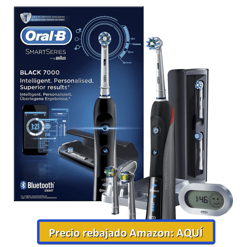 Cepillo de dientes eléctrico Oral-B Pro700 Cross Action Negro