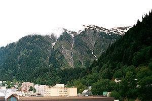 Alaska's capital city, Juneau.