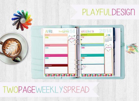 Oltre 1000 immagini su planner su Pinterest | Agenda settimanale ...