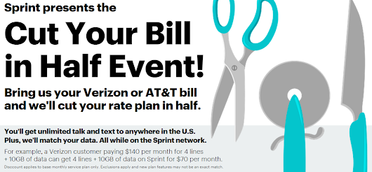 Sprint Wants to Cut Your Phone Bill in Half  - #LatinaGeeks™