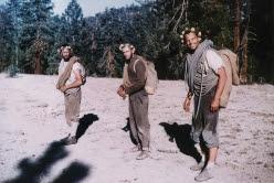 Royal Robbins, Tom Frost e Chuck Pratt dopo la prima salita della Salathé Wall, El Capitan