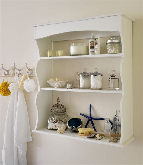 unique bathroom shelves white rustic bathroom shelves