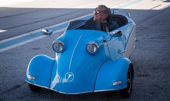 Messerschmitt возвращается к выпуску трехколесных микроавтомобилей
