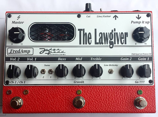 FredAmp The Lawgiver Preamp