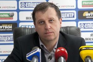 И.о. главного тренера Зари Юрий Вернидуб