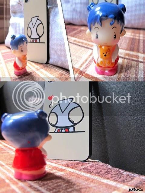 When Ultraman meets girl
