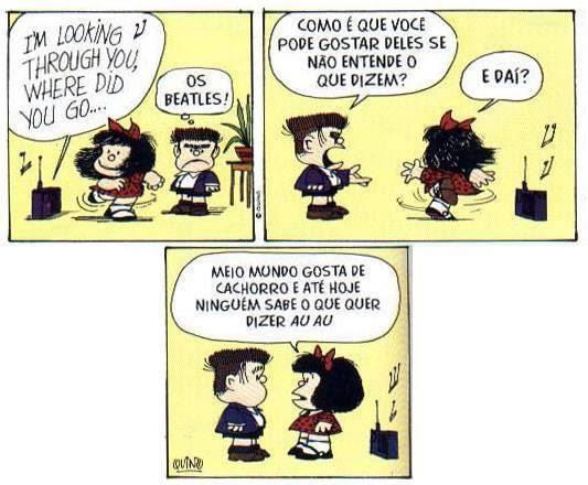 Mafalda - The Beatles!