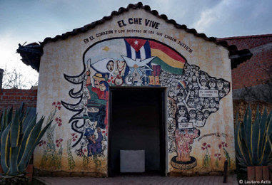 """El Che vive"". Foto: Lautaro Actis."
