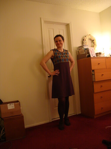 argyle concept dress done!