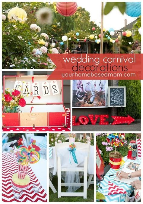 The Wedding Carnival} Decorations