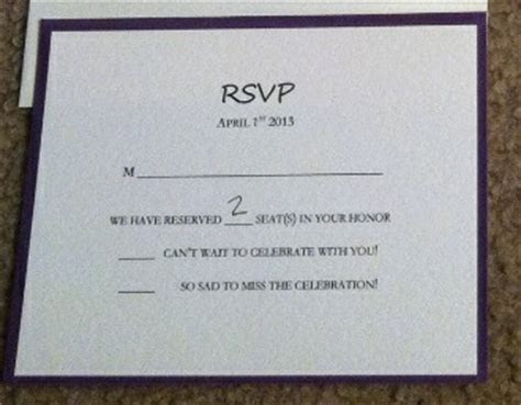 Show me your RSVP cards!   Weddingbee
