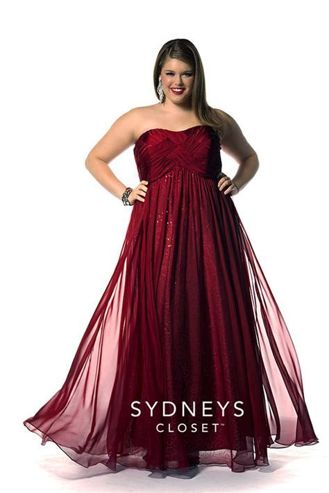 Sydney's Closet Plus Size Prom SC7121 Sydney's Closet Prom