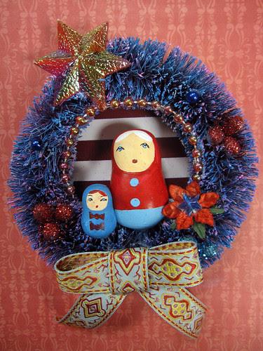 Matryoshka Wreath, Pollyanna's Fairytale! 5