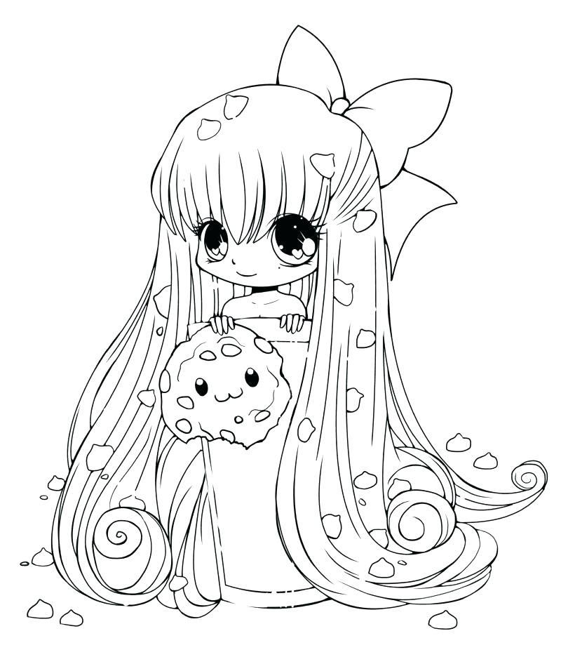 Anime Unicorn Girl Drawing