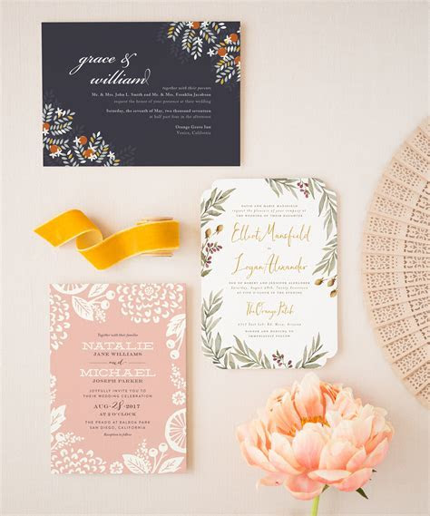 Wedding Invitation Trends 2017 ? New Wedding Stationery