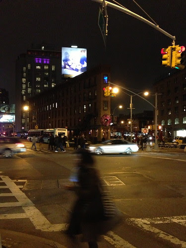 Meatpacking district, by night