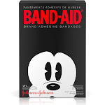 Band-Aid Children's Mickey Mouse Adhesive Bandages, Assorted - 20 count