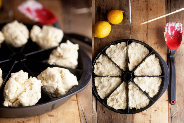 Lemon Cream Scones Process Image