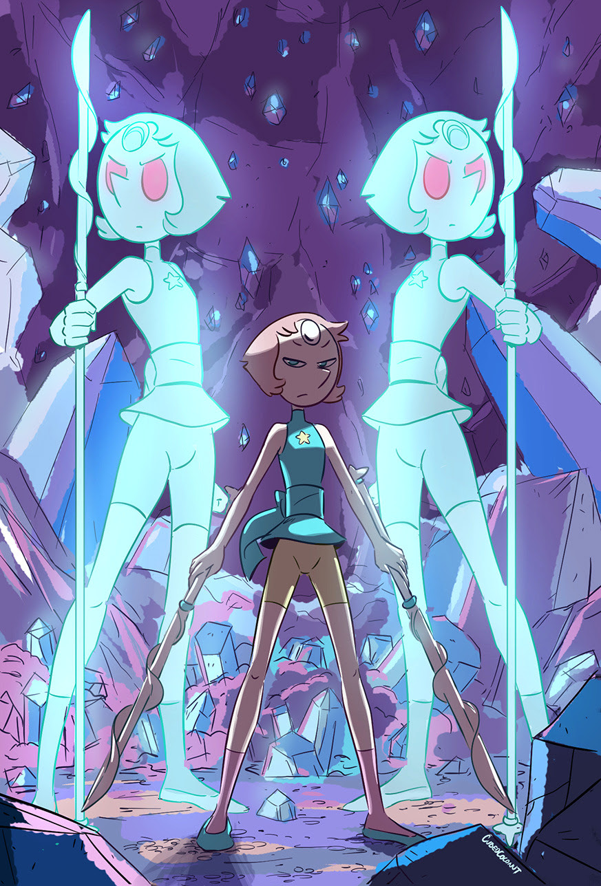 Wouldn't it be cool to see Pearl summon holo fusions during a fight scene?