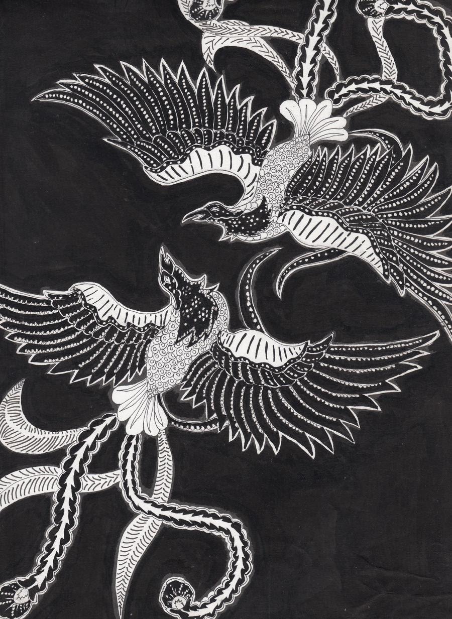 Ornamen Nusantara Motif Phoenix pada Batik by h4125 on
