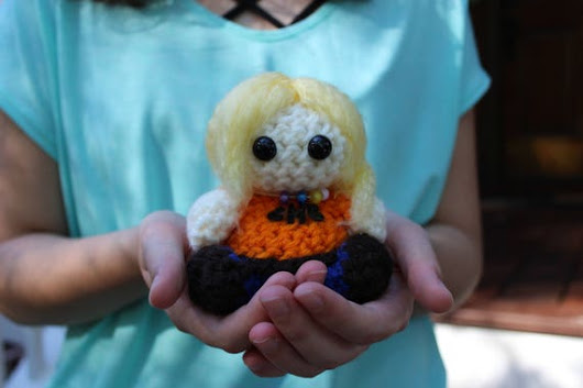 Annabeth Chase Percy Jackson Crochet Mini Doll