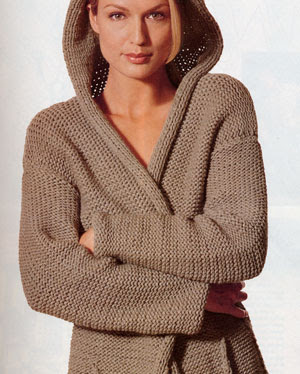 Adrienne Vittadini ad in winter 2000 Vogue Knitting