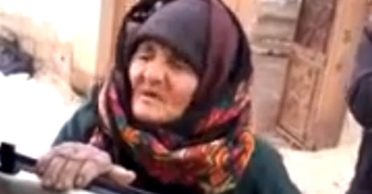 Video: Watch This Little Old Muslim Lady Stand Up To ISIS Militants