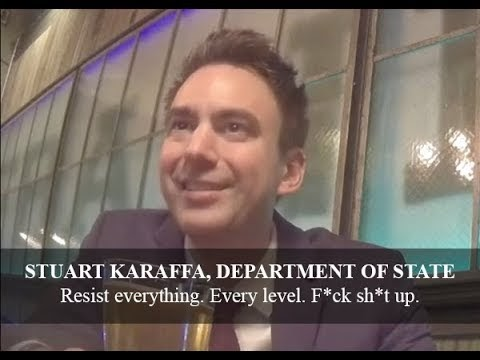 """Deep State Unmasked: State Department on Hidden Cam, """"Resist Everything,"""" """"I Have Nothing to Lose"""" (..."""