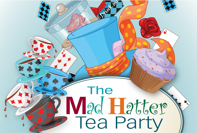 A Mad Hatter Tea Party Childrens Summer Reading Kick Off Patten
