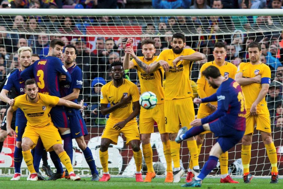 Barcelona Fc Vs Atletico Madrid H2h