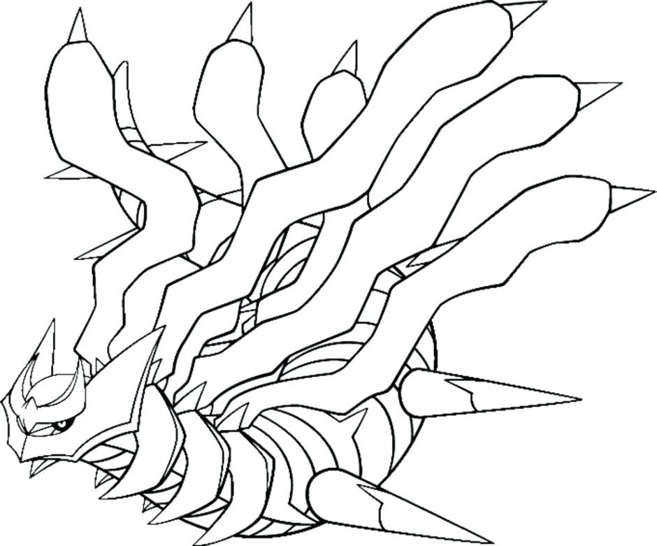 Pokemon Groudon Coloring Pages At Getdrawingscom Free For