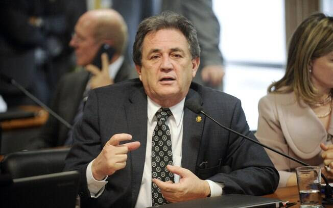 O senador Waldemir Moka (MS) é um dos indicados do PMDB para compor a comissão do impeachment no Senado. Foto: Jefferson Rudy/Agência Senado - 30.09.15