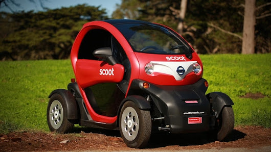 The Scoot Quad: This Twizy puts the city in reach