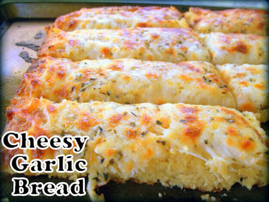 Cheesy Garlic Bread, I finally made this recipe and it was GREAT!
