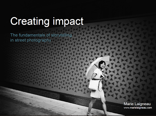 Free eBook: Creating impact | Storytelling in street photography