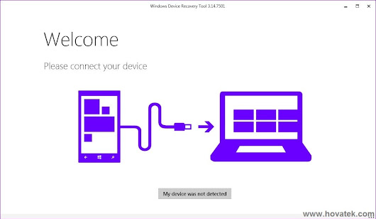 How to use Windows Device Recovery Tool (Windows Phone)