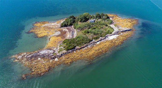 Island off Freeport once owned by famed Arctic explorer has likely buyer - Portland Press Herald