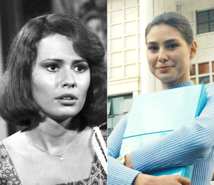 Renée de Vielmond e Lavínia Vlasak interpretaram as personagens Léa e Lígia, respectivamente. Filha de Marilu, ela é apaixonada por Rodrigo desde pequena. (Foto: Cedoc / TV Globo)