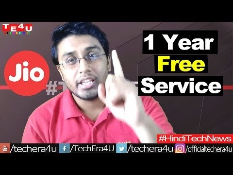 1 Year Free Service For Reliance Jio Users ?? || Hindi Tech News #181