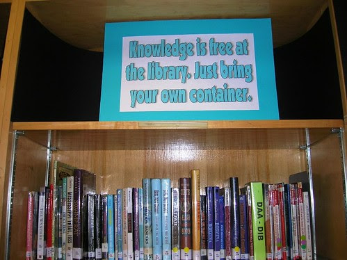 Knowledge is Free at the Library