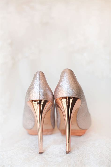 Coral El Chorro Wedding   Rose gold pumps, Paradise valley