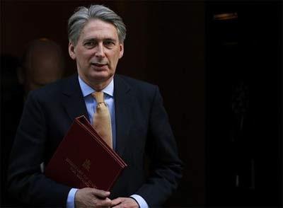 El Ministro de Defensa de Reino Unido, Philip Hammond.
