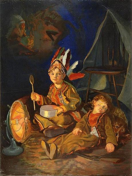Edmund Franklin Ward (1892 – 1990) Dream Scene