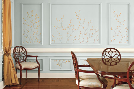 How to Paint a Decorative Twig Design   This Old House