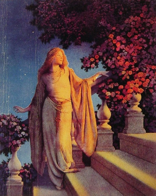 Cinderella by Maxfield Parrish #art